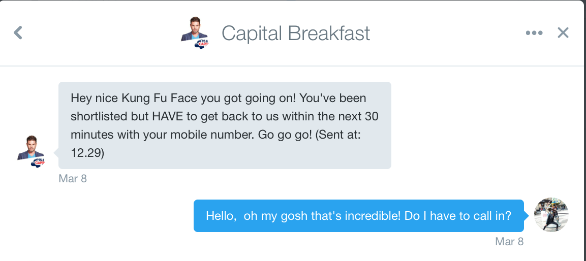 Capital Breakfast DM