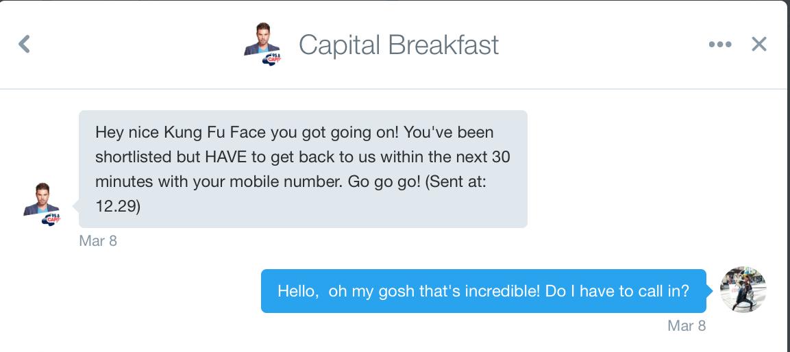 Capital Breakfast DM